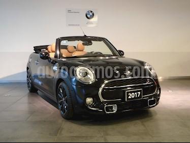 Foto venta Auto Usado MINI Cooper Convertible S Hot Chili Aut (2017) color Negro Medianoche precio $439,000