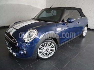 Foto venta Auto Seminuevo MINI Cooper Convertible S Hot Chili Aut (2018) color Azul Profundo precio $435,000