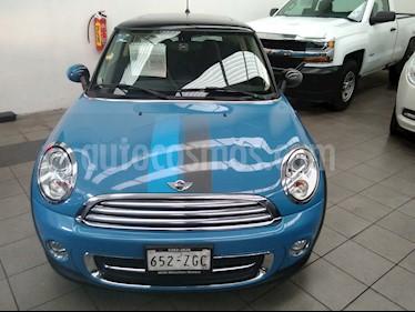 Foto venta Auto Usado MINI Cooper Bayswater Aut (2013) color Azul Metalizado precio $255,000