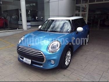 Foto venta Auto usado MINI Cooper Pepper Aut (2016) color Azul precio $290,000