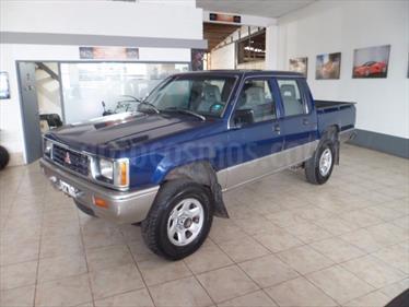 Foto venta Auto Usado Mitsubishi L200 4x4 2.5 DI-D CD (1996) color Azul precio $165.000