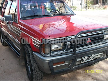 Foto venta Auto usado Mitsubishi L200 4x4 2.5 High Power CD Full (1991) color Rojo precio $88.999