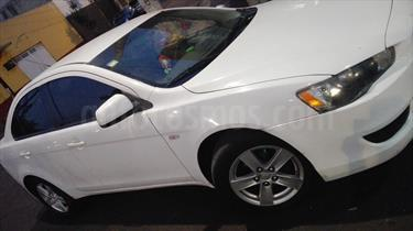 Foto venta Auto Usado Mitsubishi Lancer DE ABS & AC (2009) color Blanco / Gris Urbano precio $85,000