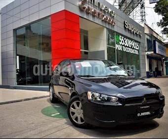 Foto venta Auto Usado Mitsubishi Lancer DE ABS & AC  (2014) color Negro precio $145,000