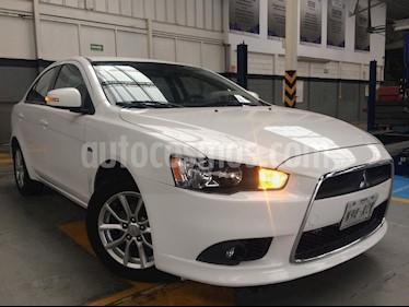 Foto venta Auto Usado Mitsubishi Lancer ES CVT (2015) color Blanco precio $185,000