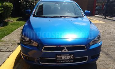 Foto venta Auto Usado Mitsubishi Lancer ES (2012) color Azul Profundo precio $127,000