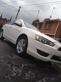 Foto venta Auto Usado Mitsubishi Lancer ES (2014) color Blanco precio $143,000