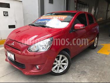 Foto venta Auto Seminuevo Mitsubishi Mirage GLS CVT (2016) color Rojo precio $165,000