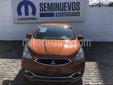 Foto venta Auto Seminuevo Mitsubishi Mirage GLS CVT (2017) color Naranja precio $170,000