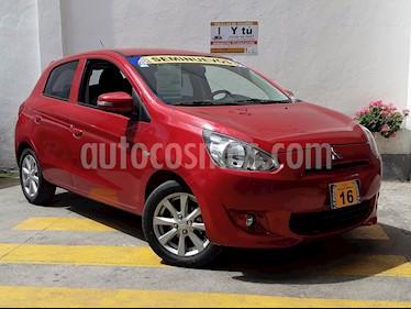 Foto venta Auto Seminuevo Mitsubishi Mirage GLS CVT (2016) color Rojo precio $169,500