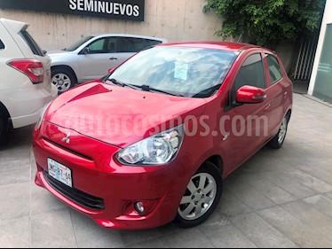 Foto venta Auto Seminuevo Mitsubishi Mirage GLS (2016) color Rojo precio $155,000