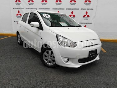 Foto venta Auto Seminuevo Mitsubishi Mirage GLS (2015) color Blanco precio $130,000