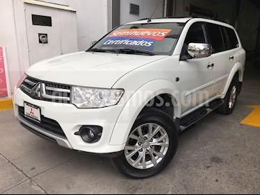 Foto venta Auto Usado Mitsubishi Montero Sport 3.5L Sun & Sound (2014) color Blanco precio $259,000