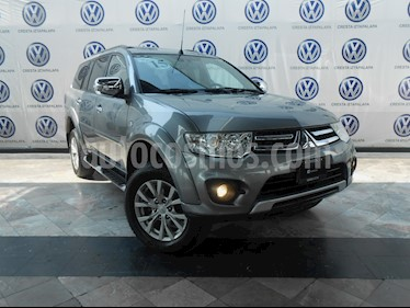 Foto venta Auto Seminuevo Mitsubishi Montero Sport 3.5L (2015) color Plata Reflex precio $269,000