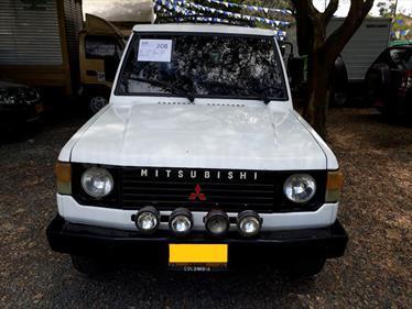Foto venta Carro usado Mitsubishi Montero 2.6 (1996) color Blanco precio $18.500.000