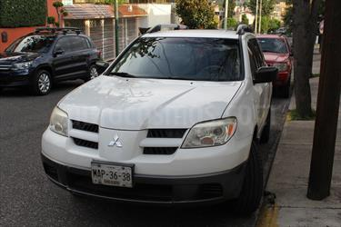 Foto venta Auto Usado Mitsubishi Outlander 2.4L LS  (2006) color Blanco precio $86,500