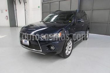 Foto venta Auto Usado Mitsubishi Outlander 2.4L LS  (2011) color Azul precio $168,000