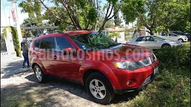 Foto venta Auto usado Mitsubishi Outlander 2.4L LS  (2008) color Rojo precio $120,000