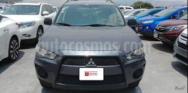 Foto venta Auto Usado Mitsubishi Outlander 2.4L LS  (2010) color Gris precio $140,000