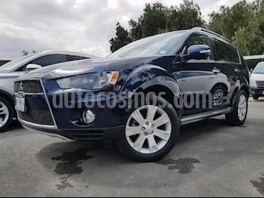 Foto venta Auto Usado Mitsubishi Outlander 3.0L Limited (2013) color Azul precio $195,000