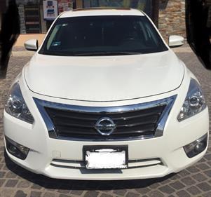 Foto Nissan Altima Advance NAVI usado (2014) color Blanco Perla precio $180,000