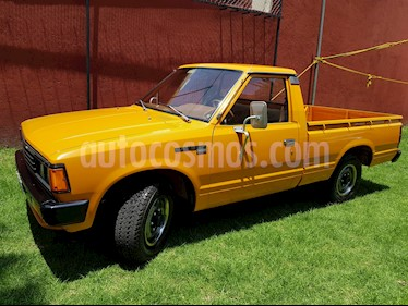Foto venta Auto Seminuevo Nissan Camiones 1.8L Corto (1985) color Naranja precio $149,000