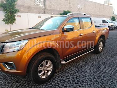 Foto venta Auto Seminuevo Nissan Frontier LE 2.4L 4x4 (2018) color Naranja Cobre precio $359,000