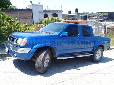 Foto venta Auto Usado Nissan Frontier SE 4x4 V6 (2000) color Azul Acero precio $80,000