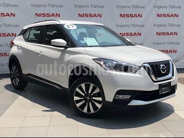 Foto venta Auto Usado Nissan Kicks Advance Aut (2017) color Blanco Perla precio $279,000