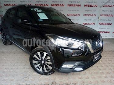 Foto venta Auto Seminuevo Nissan Kicks Advance Aut (2017) color Negro precio $267,000