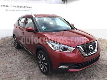Foto venta Auto Seminuevo Nissan Kicks Advance Aut (2018) color Rojo Metalizado precio $310,000