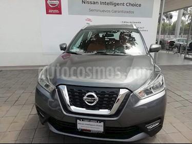 Foto venta Auto Usado Nissan Kicks Exclusive Aut (2017) color Gris Oxford precio $325,000