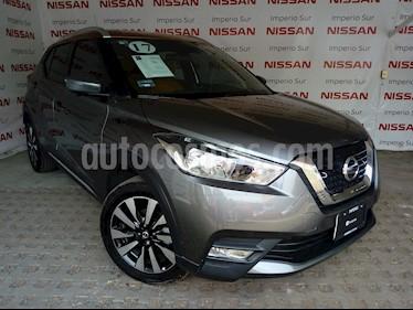 Foto venta Auto Usado Nissan Kicks Exclusive Aut (2017) color Gris precio $310,000