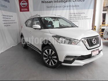 Foto venta Auto Usado Nissan Kicks Exclusive Aut (2018) color Blanco Perla precio $310,000