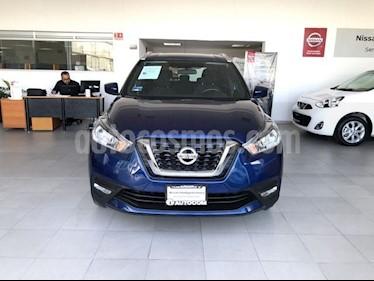 Foto venta Auto Seminuevo Nissan Kicks KICKS ADVANCE CVT A/C NEGRO (2017) color Azul Cobalto precio $265,000