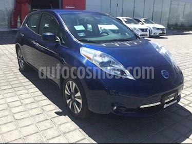Foto venta Auto Seminuevo Nissan Leaf 30 kW (2017) color Azul precio $495,000