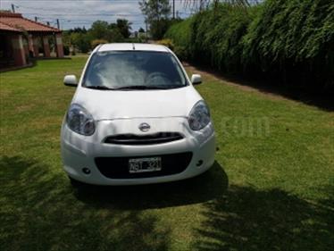 Foto venta Auto Usado Nissan March Acenta (2013) color Blanco precio $170.000