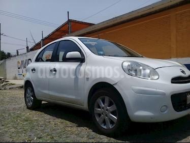 Foto venta Auto usado Nissan March Active Aire Ac (2012) color Blanco precio $90,000