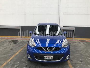 Foto venta Auto Seminuevo Nissan March Advance Aut (2015) color Azul precio $159,500