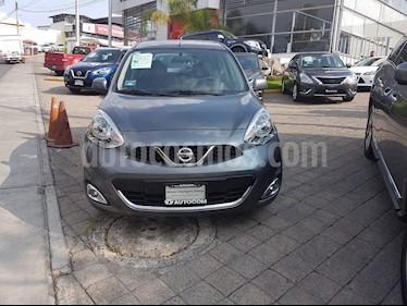 Foto venta Auto Seminuevo Nissan March Advance Aut (2018) color Gris Oxford precio $191,000