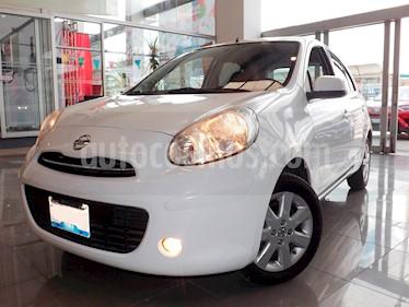 Foto venta Auto Seminuevo Nissan March Advance Aut (2013) color Blanco precio $125,000