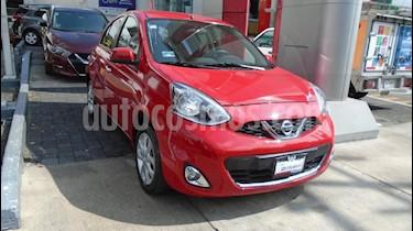 Foto venta Auto Seminuevo Nissan March Advance Aut (2016) color Rojo precio $175,000