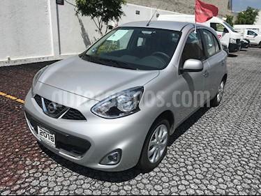 Foto venta Auto Seminuevo Nissan March Advance NAVI Aut (2018) color Plata precio $209,500
