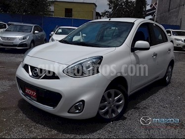 Foto venta Auto Seminuevo Nissan March Advance (2017) color Blanco precio $158,000
