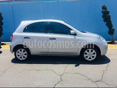 Foto venta Auto usado Nissan March Advance (2012) color Plata precio $100,000
