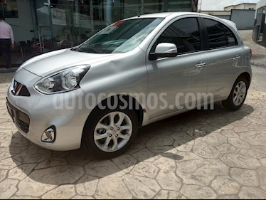 Foto venta Auto Seminuevo Nissan March Advance (2017) color Plata precio $169,000