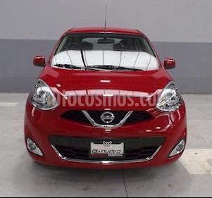 Foto venta Auto Seminuevo Nissan March Advance (2017) color Rojo precio $175,000