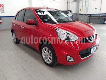 Foto venta Auto Seminuevo Nissan March Advance (2017) color Rojo precio $159,000