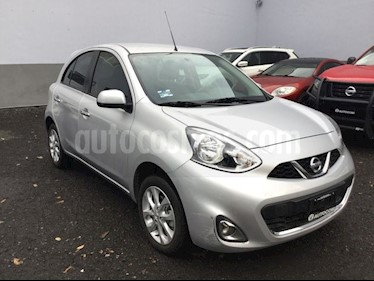 Foto venta Auto Seminuevo Nissan March MARCH ADVANCE TA (2017) color Plata precio $185,000