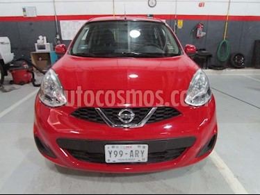 Foto venta Auto Seminuevo Nissan March Sense Aut (2015) color Rojo precio $150,000